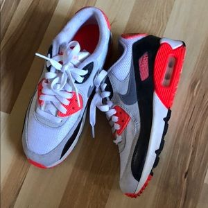 Nike Shoes - Nike Airmax 90 infrareds sz 3.5Y fits 5.5 women